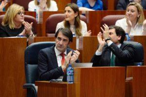 Las Cortes de Castilla y León tras la votación. Foto: EFE