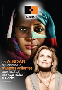 Cartel de la campaña Mujeres Valientes