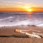 Lanza al mar un mensaje en una botella y lo reciben a 4.000 km