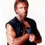 Chuck Norris también vota en Rusia