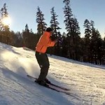 El esquiador del trombón triunfa en la red