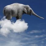 ¿Cuánto pesa una nube? 200.000 elefantes, nada menos