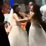 Video: Amante embarazada irrumpe en una boda y ataca a la novia