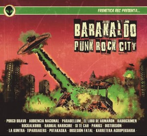 Barakaldo Punk Rock City - Recopilatorio con 15 bandas de la localidad