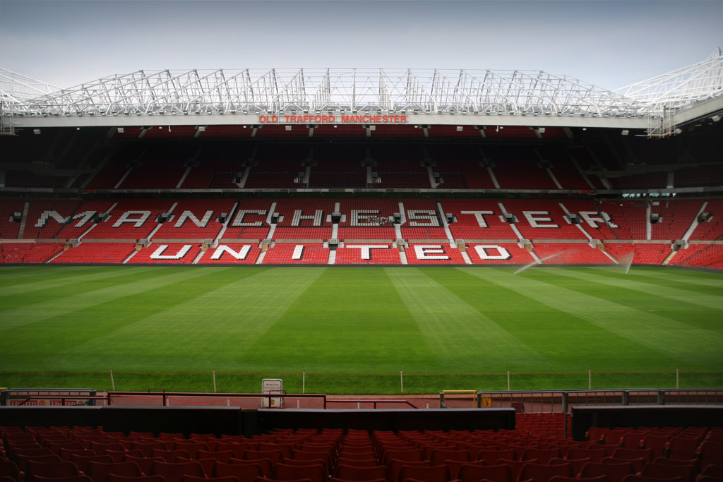 El Estadio Olf Trafford. Foto: Wikipedia