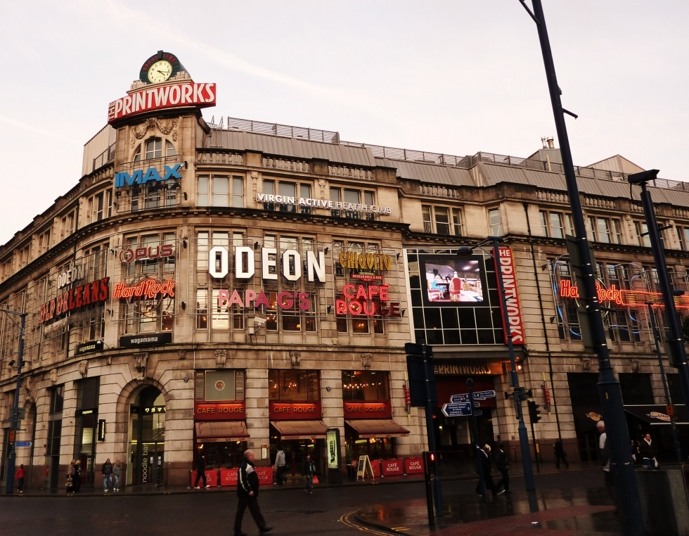 Edificio del The Printworks, en Manchester. Foto: minube.com