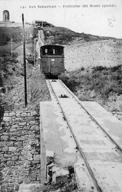 Funicular de Igeldo. Publicado por Mariona Tella