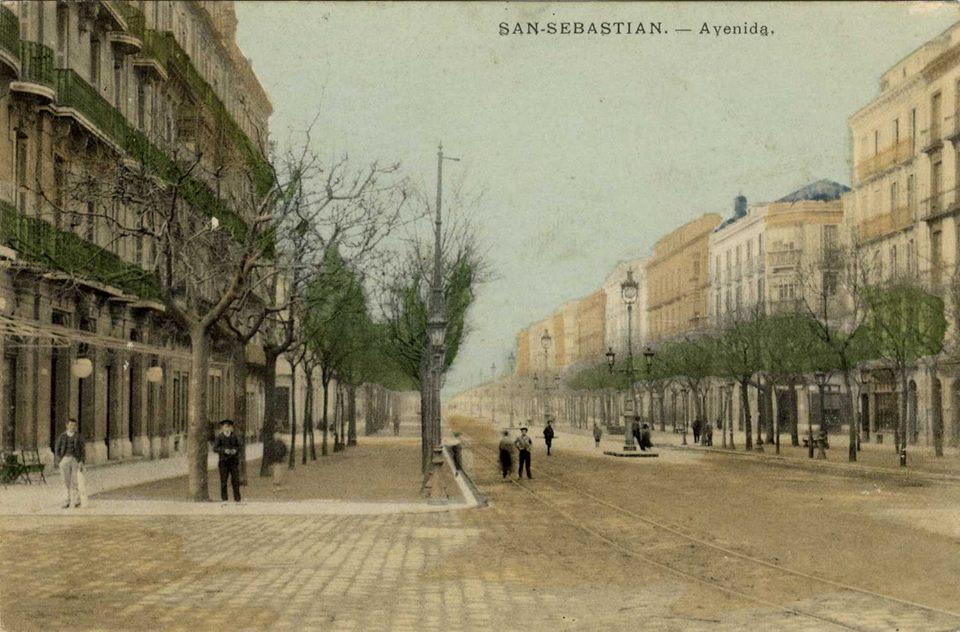 La Avenida de Donostia. Fuente: Guregipuzcoa.net Publicado por Mario