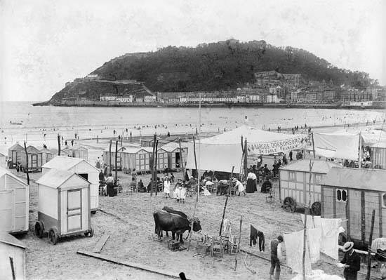 Playa de la Concha. Publicado por Mariona Tella