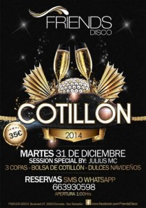 Cotillón Disco Fiends 2014.