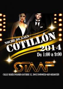Cotillón Nochevieja 2013.