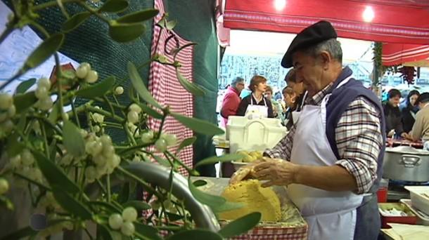 Fería de Santo Tomas en Donostia. Foto: eitbcom