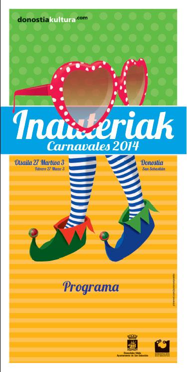 Cartel del Carnaval 2014 de Donostia
