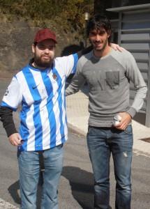 Joanes, junto a Carlos Martinez. Fuente: incertidumbresurbanas.blogspot.com.es