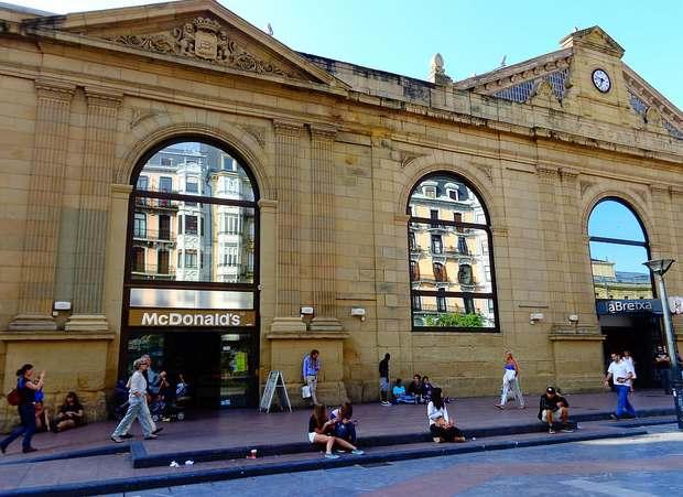 Mercado de la Bretxa en Donostia. Foto: Patricia Schnabel Lope