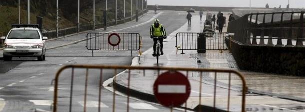 Paseo Nuevo de Donostia. Foto: EFE