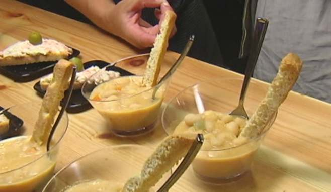 Gastro-pote en el Mercado San Martín. Foto: EiTB