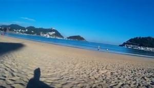 Paseo por Donostia. Foto: youtube