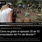 Este es el making of del episodio 20 del Conquis 2013