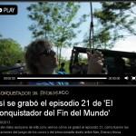 Making of: mira cómo se hizo el episodio 21 del Conquis 2013