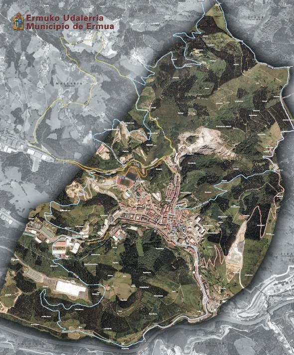 Mapa Mugarriz Mugarri 2013