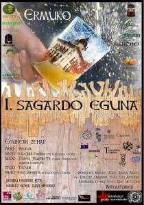 Cartel anunciador del Sagardo Eguna. La imagen pernece a la web ermua.es.
