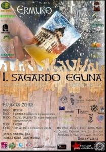 Cartel anunciador del Sagardo Eguna. La imagen pernece a ermua.es.