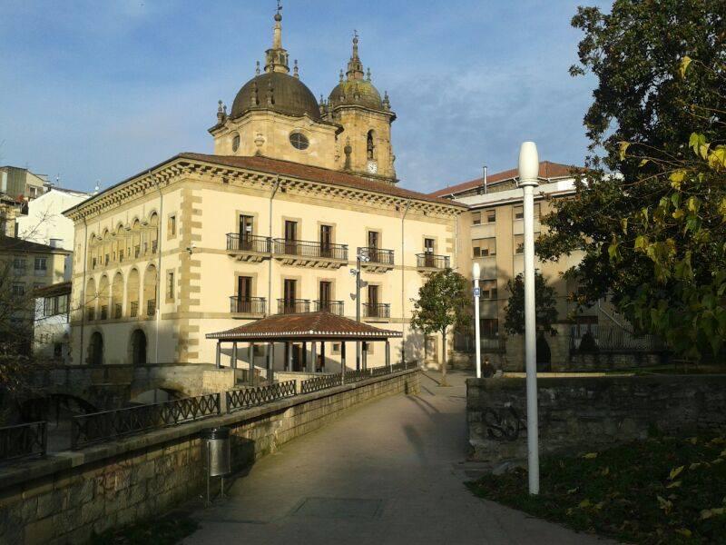 El Palacio de Valdespisna de Ermua