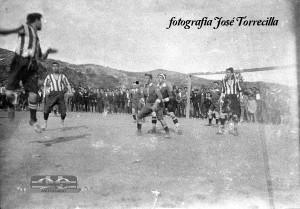 Año 1924, un partido del Izarra. Fuente: www.clubdeportivoizarra.es