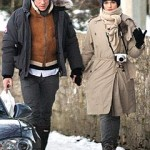 Rachel Weisz y Daniel Craig, parejita navideña