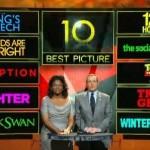 'El discurso del rey' encabeza las nominaciones a los Oscar
