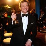 Colin Firth, el rey que olvidó su Oscar en el 'trono'