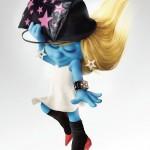 Pitufina, la nueva modelo de Harper´s Bazaar