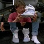 Las zapatillas de 'Regreso al futuro' son una realidad