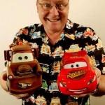 John Lasseter, el padre de 'CARS' o 'Toy Story, estrella 2.453