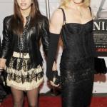 Madonna se carga a su hija en la sala de montaje