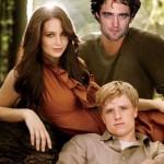 Katniss, Peeta y ¿Robert Pattinson? en 'Los juegos del hambre 2'