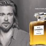 Brad Pitt seduce a Chanel Nº5