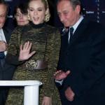 Diane Kruger enciende la Navidad en Paris