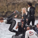 Finnick, Peeta y Katniss ya están en La Arena