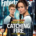 Katniss y Finnick preparados para 'Los Juegos del Hambre. En llamas'