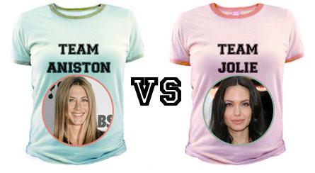 Aniston vs Jolie