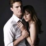 Christian Grey y Anastasia Steele dan la cara