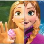 El parentesco de Rapunzel y las princesas de 'FROZEN'