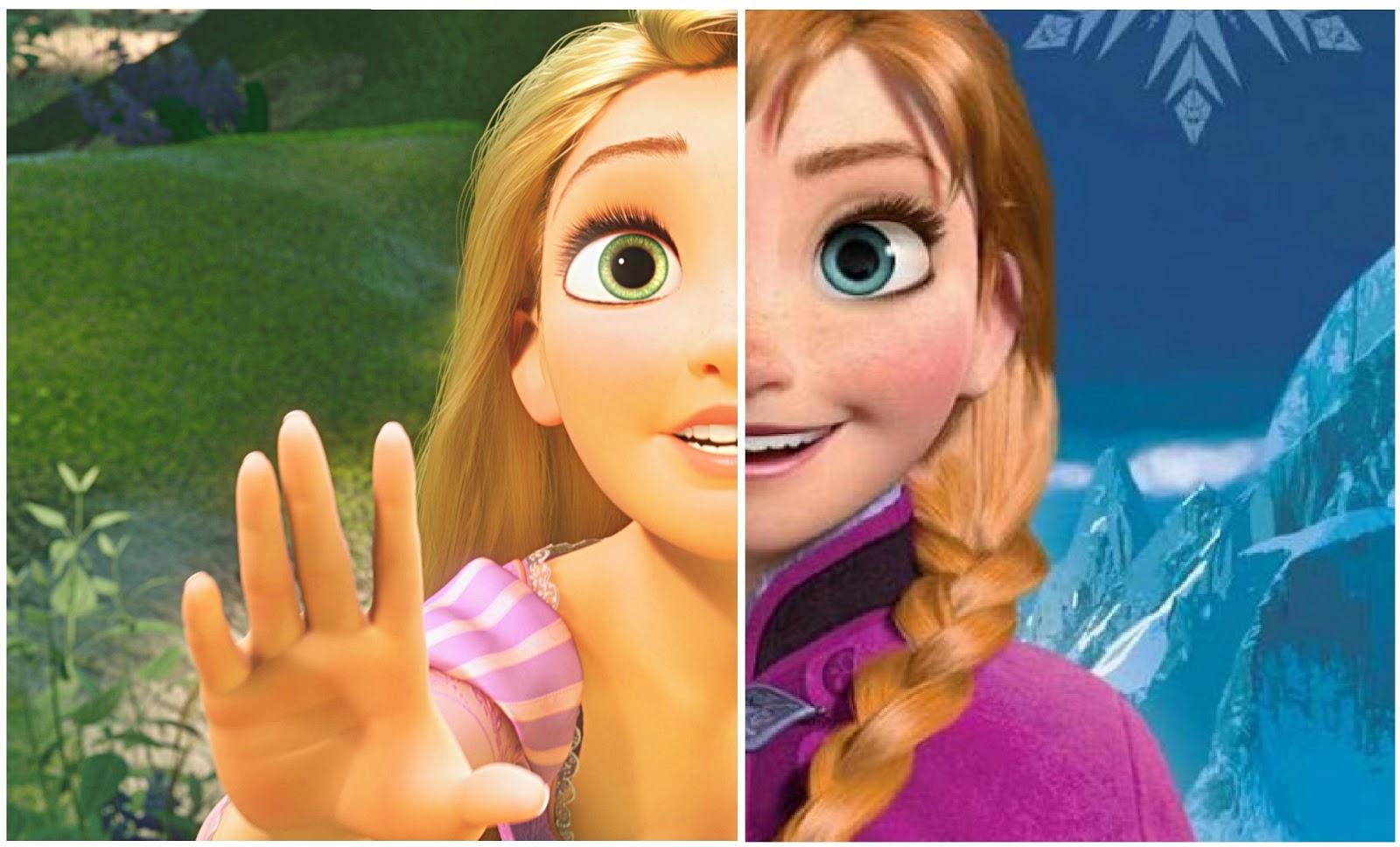 El Parentesco De Rapunzel Y Las Princesas De Frozenrapunzel Y Su