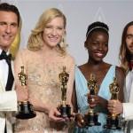 '12 años de esclavitud' y 'Gravity' triunfan en los Oscar