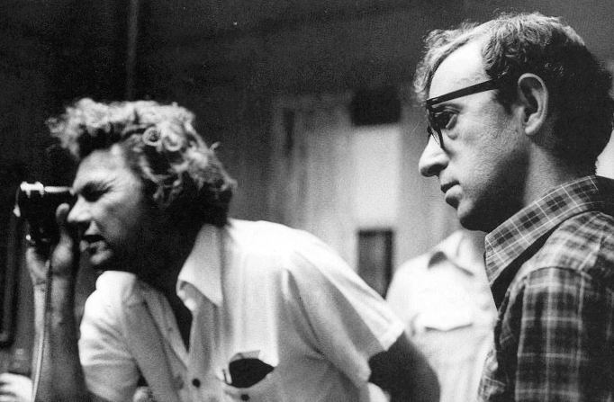Willis y Woody Allen en pleno rodaje