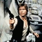 Han Solo 'aplastado' por el Halcón Milenario