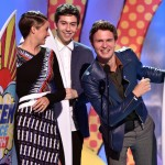 Ansel Elgort y Shailene Woodley triunfan en los Teen Choice Awards