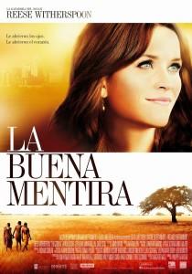 cartel LA BUENA MENTIRA